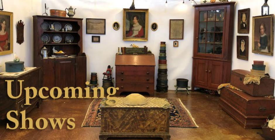 Wilmarth's Tin Cats Antiques Upcoming Shows